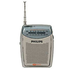 **NEW** PHILIPS RL120 Portable Pocket Compact FM Radio