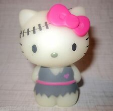 "Sanrio Hello Kitty 2.5"" Rare Glow in Dark Frankenstein Halloween PVC Figure NIB"