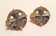 Star Trek Movie Era Admiral Rank Pins (Uniform Set of 2) Inner Ring Variation