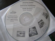 NEW GENUINE JAGUAR TECHNICAL GUIDE & UPDATE INFO CD DISC X-TYPE S-TYPE XJ XK XK8
