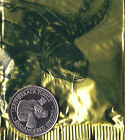 NEW SEALED WORLD ENDANGERED SPECIES NBS COLLECTIBLE COIN - LEATHERBACK TURTLE