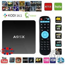KODI(XBMC) Quad Core 4K 8G Android 5.1 TV Box Fully Loaded Free Sports Movie Hot