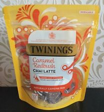 TWININGS - Caramel Redbush Chai Latte - Loose Leaf Pyramid Tea - New