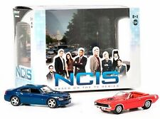 NCIS TV DIORAMA POLICE 2009 DODGE CHARGER & 1970 PLYMOUTH CUDA POLICE
