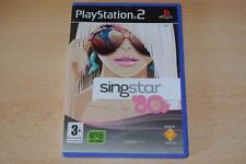 Singstar 80s PS2 Playstation 2 PAL REINO UNIDO