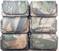 CAMO NYLON HOLSTER CASE POUCH FOR OTTERBOX IPHONE 4 4S COMMUTER REFLEX LIFEPROOF