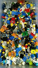 LEGO City 4 Random Minifigure people Lot Complete w/ Accessory Town Fire Police