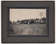 1900s TRAIN ACCIDENT Real PHOTOGRAPH Photo NEW YORK NEW HAVEN HARTFORD Railroad