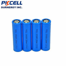 (Pack of 4 ) ICR 18650 Vape Mod Battery ( 2200mAh,Flat Top,Rechargeable ) PKCELL