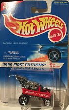 Hotwheels Flyer Wagon, new in unopened blister, 1996 Premiere First Edition