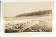 RPPC the Shubenacadie Bore near MAITLAND NS Vintage Real Photo Postcard