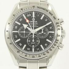 Authentic OMEGA REF.3581 50 Speedmaster Broad Arrow GMT Automatic  #260-001-4...