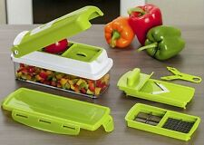GENIUS NICER DICER PLUS MULTI CHOPPER VEGETABLE & FRUITS CUTTER SLICER USC,6