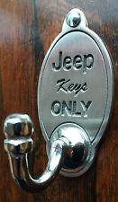 JEEP OFF ROAD 4x4 Gancio Chiave (esclusivo design) incise Peltro Inglese