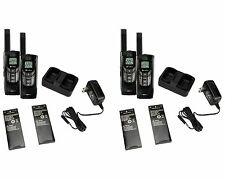 (4) COBRA CXR-925 35 Mile 22 Channel UHF/FM NOAA Two-Way Radios Walkie Talkies