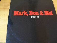 GRAND FUNK RAILROAD MARK,DON & MEL 1969-1971 LP USA SABB 11042 INSERTO + POSTER