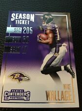 Mike Wallace  Ravens  2016 Panini Contenders #78