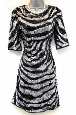 Stunning Next Signature Sequin Embellished Evening Xmas Dress Size 10