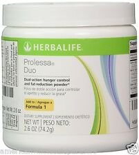 NEW HERBALIFE PROLESSA DUO SMALL 7-DAY PROGRAM 2.6 OZ Free USA Ship! INTL Ship