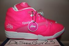 DS REEBOK COURT VICTORY PUMP ALIFE sz 9.5 BALL OUT TENNIS 6-712039 PINK