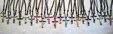 """Horseshoe Nail Cross """" 4 cross Combo""""  Necklaces - You choose colors! Free Ship"""