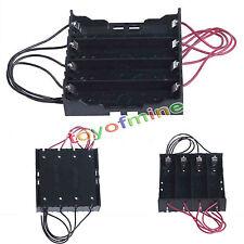 Porta batterie 4x18650 stilo AA batteria casa holder battery contenitore box NEW