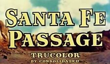 SANTA FE PASSAGE, 1955, John Payne, Rod Cameron Republic Western: DVD-R:Region 2