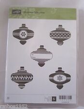 Stampin Up Christmas Collectibles Stamp Set Ornaments 5 Stamps