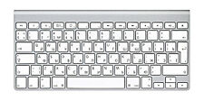 Apple Wireless Ruso Teclado A1314, mc184rs/b