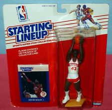 1988 KEVIN WILLIS Atlanta Hawks Rookie #42 - low s/h - sole Starting Lineup