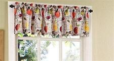 """FRUIT HARVEST Kitchen Curtain Valance 60"""" W x 14"""" L Printed Valance Lichtenberg"""