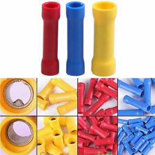 100X/Set  Assorted Insulated Electrical Wire Cable Terminal Crimp Connector Kit