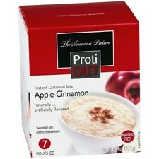 ProtiDiet - Apple-Cinnamon Instant Oatmeal Ideal Weight Loss (7/Box)