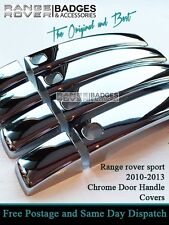 2010 /13 RANGE ROVER SPORT CHROME DOOR HANDLE COVERS DISCOVERY 3M TAPE