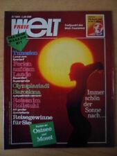 FREIE WELT 5 1991 Olympiastadt Barcelona Reisen im Rollstuhl Tunesien ITB 91