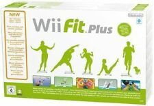 Wii fit plus Nintendo Wii pal complet avec officiel noir balance board