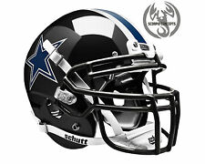 Dallas Cowboys Chrome Black Concept Mini Helmet