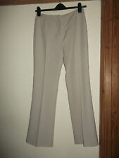 LADIES FOR WOMAN CREAMY SAND MART TROUSERS SIZE 12