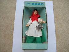 C1960S VINTAGE B.O.A.C.PEGGY NISBET IRISH COSTUME LADY IN ORIGINAL BOX