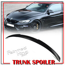 Unpainted ABS BMW F82 M4 Type Rear Trunk Spoiler Coupe 15-16