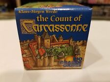 Carcassonne: The Count of Carcassonne Small Box Expansion NEW Unused