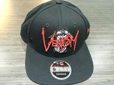 New Era Cap Hat Marvel Rock Venom Snapback Adjustable 5fifty One Sit Fits Most