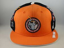 Negro Leagues Baseball Museum Headgear Fitted Hat Cap Size 7 1/2 Orange Navy