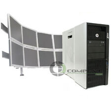 Trading 8 Monitor HP Z820 Video Wall E5-2640 2.5GHz 2x250GB HDD 2x NVS 510 Win10