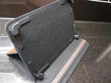 Marrón 4 Esquina agarrar Multi ángulo case/stand Para Asus 16gb Google Nexus 7 1ra Gen