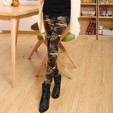 Womens Camouflage Popular Military Army CAMO Fashion Leggings Pants