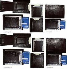 Brown Lizard skin printed leather money clip unbranded money Clip New Lot of 12