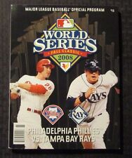 2008 WORLD SERIES Program VF- 7.5 Philadelphia Phillies vs Tampa Bay Rays