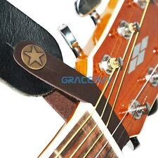 Genuine Leather Strap Hook Button for Acoustic / Folk / Classic Guitar Gracebuy