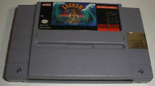 Snes Lagoon video game nice condition